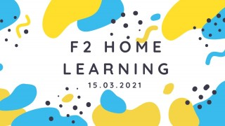 F2 Remote Learning Week commencing 15th March